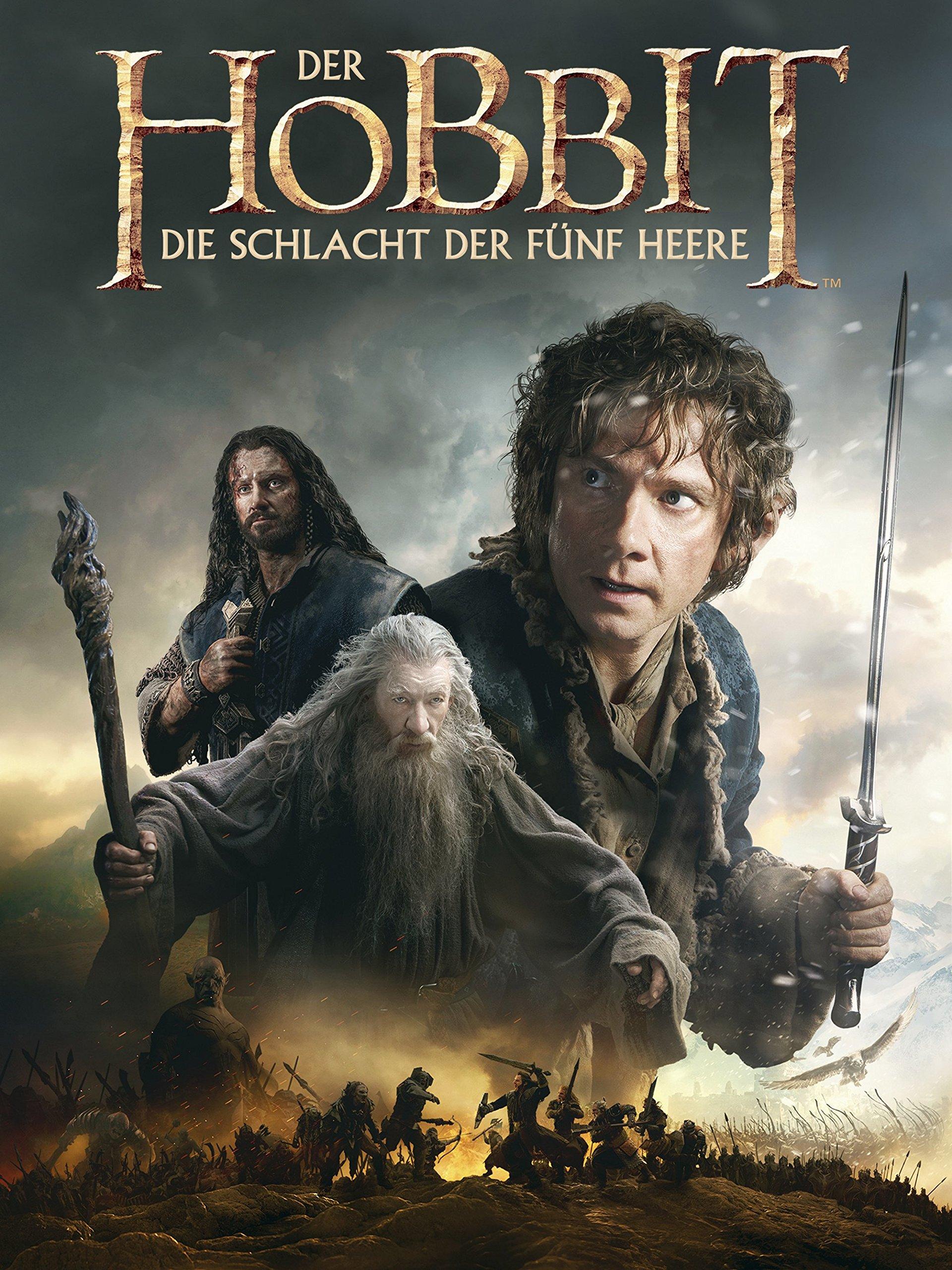 Amazonde Der Hobbit Die Schlacht Der Fünf Heere Dtov Ansehen