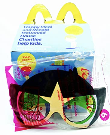 McDonalds Powderpuff Girls,Kicking Buttercup Goggles Toy,#6+Happy Meal Box