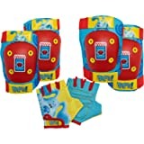 Nickelodeon Paw Patrol and Blue's Clues & You Toddler and Kids Elbow/Knee Pads and Gloves Sets, Multiple Colors