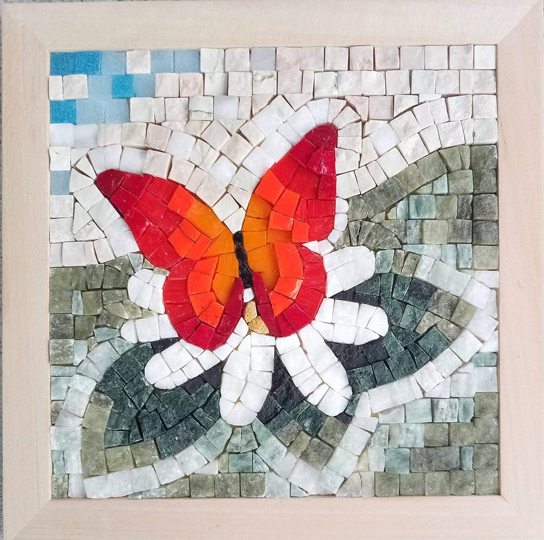 Amazon Com Original Gift Ideas Mosaic Art Kit Four Seasons Spring 9