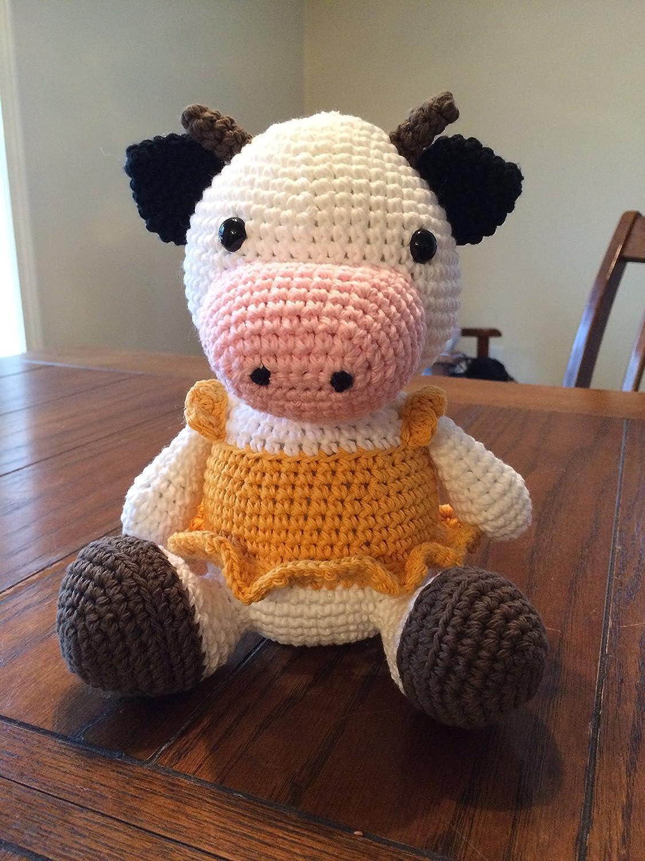 Amigurumi Crochet Cow