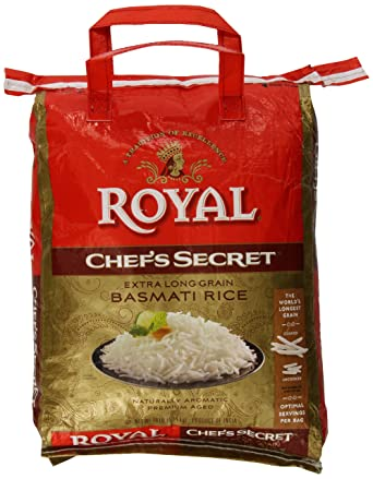 Arroz Basmati Royal Chefs Secret en grano, extra largo, de ...