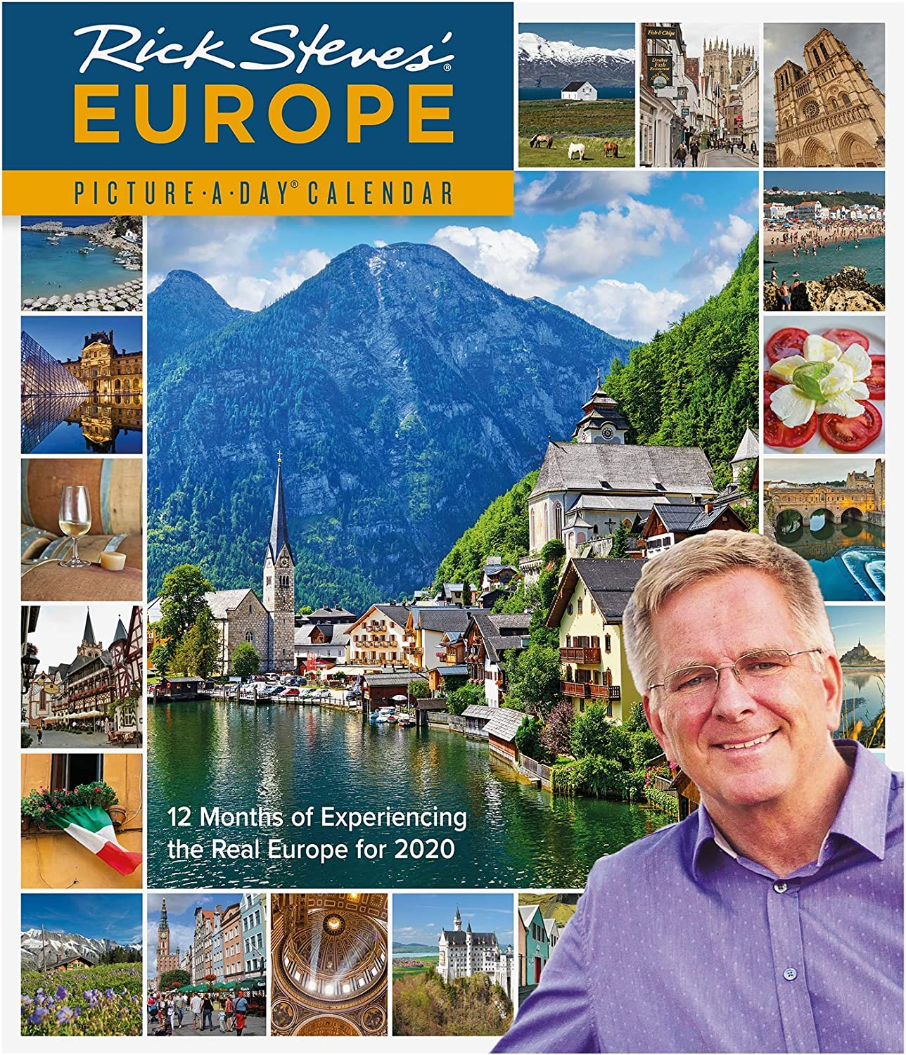 "Rick Steves' Europe Picture-A-Day Wall Calendar 2020 [12"" x 14"" Inches]"