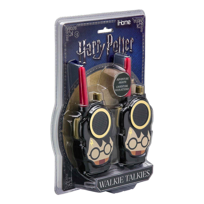 Harry Potter Walkie Talkies for Kids Adjustable Volume Control KIDdesigns Ri-210HP Long Range FRS