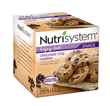 Nutrisystem Enjoy-full Chocolate Chip Cookies 8 count