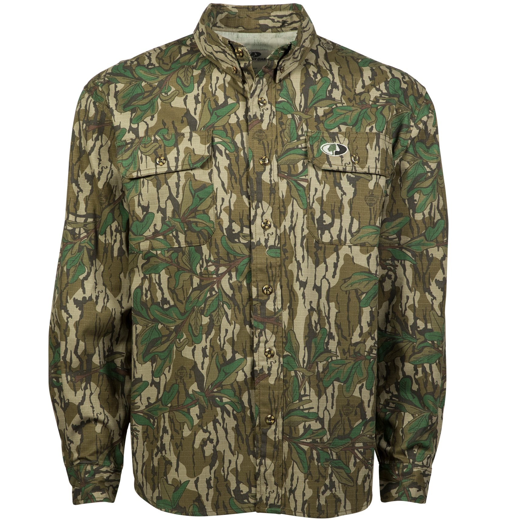 Mossy Oak Men's Tibbee Hunt Shirt by Mossy Oak