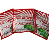 New! Ice Chips Candy in Re-sealable Packets, Peppermint (3 Pack)