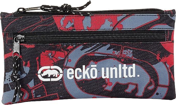 Safta Estuche Doble Cremallera Ecko Unltd. Oficial Escolar 230x110mm: Amazon.es: Ropa y accesorios