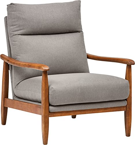 Amazon Brand Stone Beam Alderman Mid-Century Modern Accent Chair