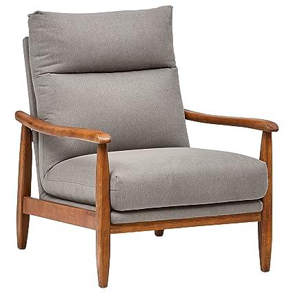 Amazon.com: Stone & Beam A1097-Gray - Silla de acento de ...