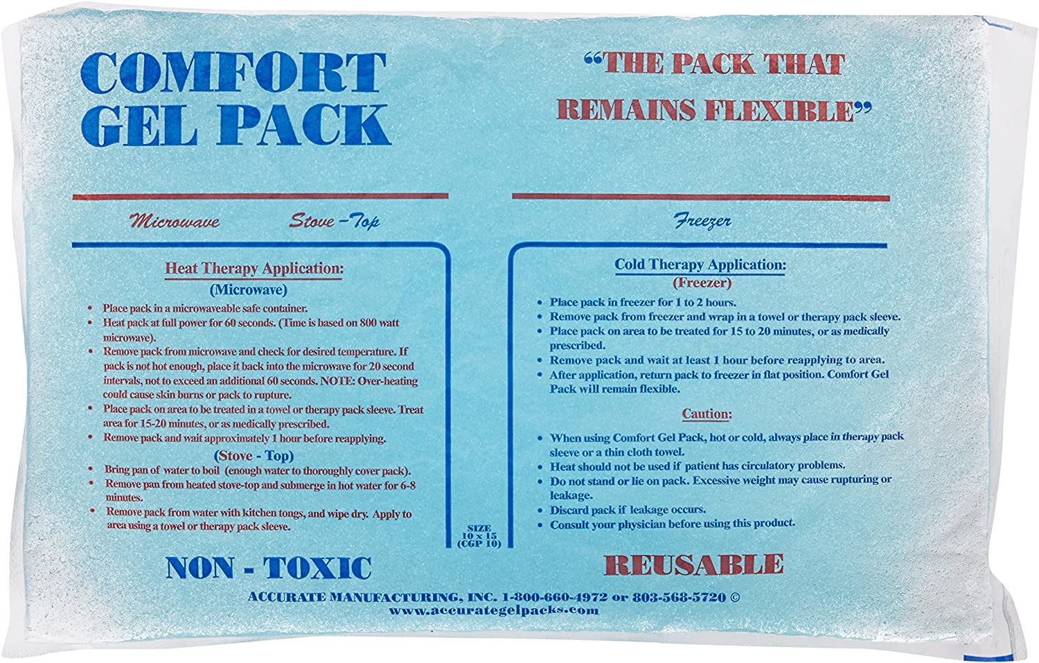 Comfort Gel Pack (10x15 Size)