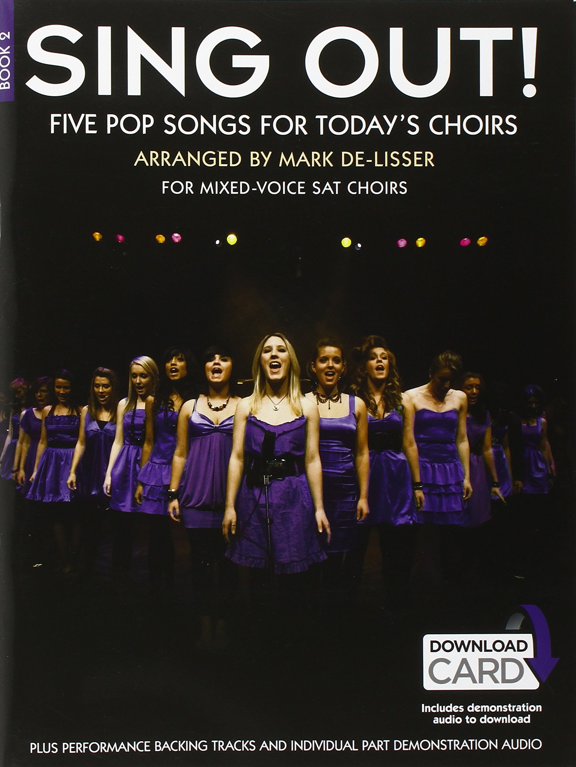 Download Sing Out] 5 Pop Songs For Today's Choirs - Book 2 (Book/Audio Download) ebook