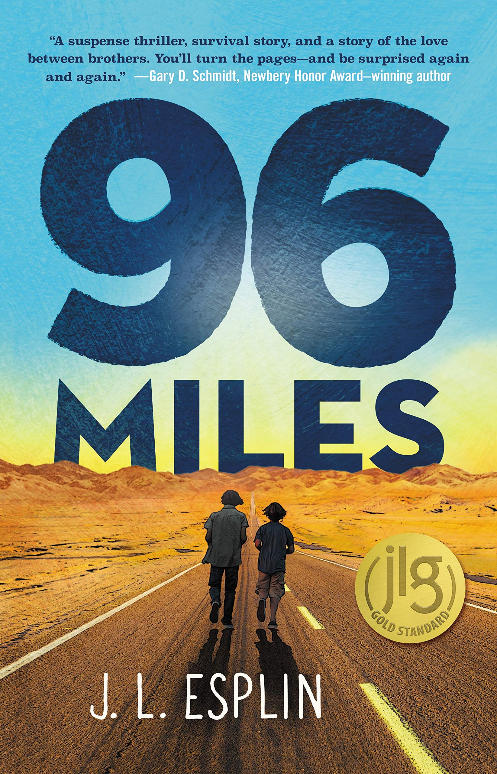 96 Miles: Esplin, J. L.: 9781250192288: Amazon.com: Books