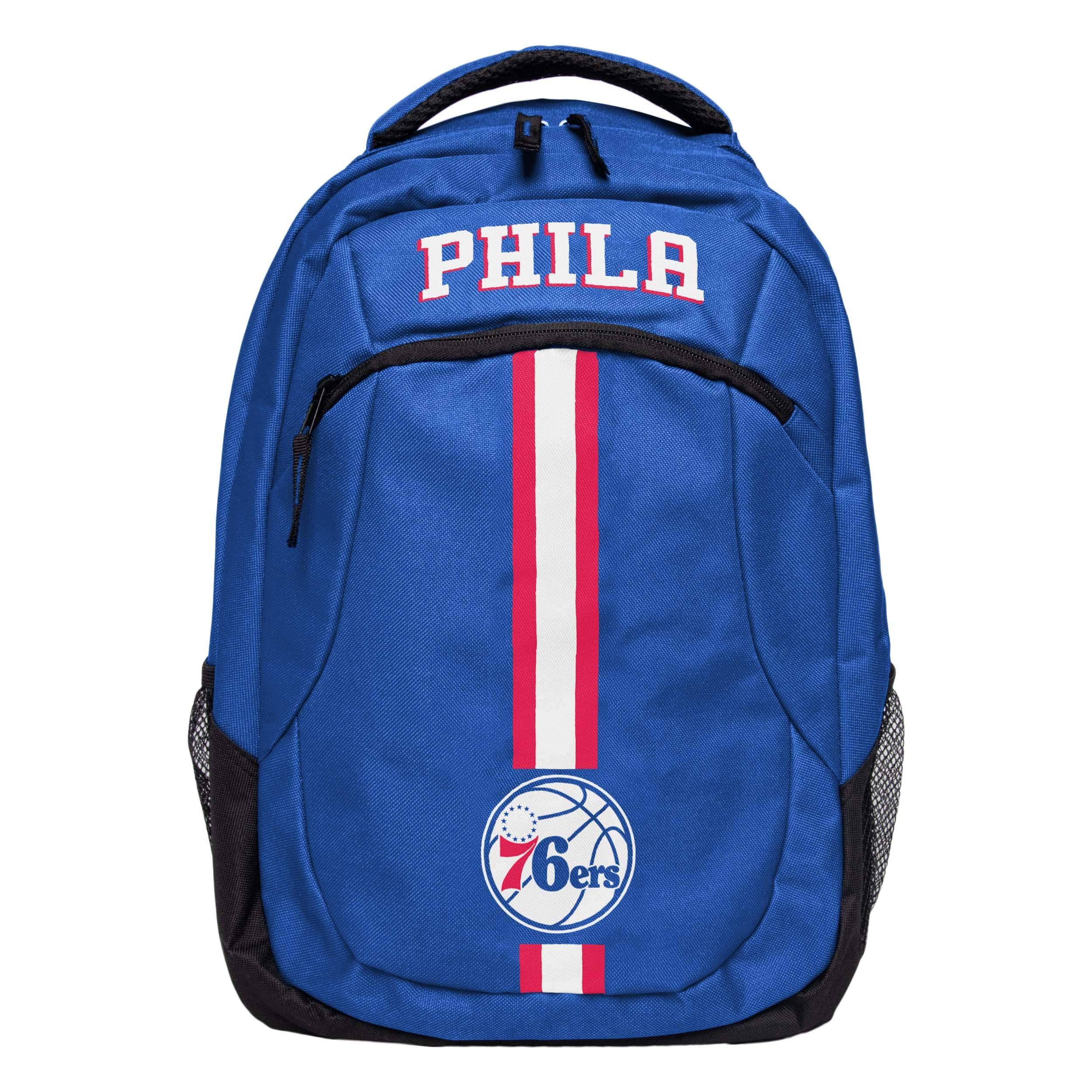 FOCO NBA Philadelphia 76ers Action BackpackAction Backpack, Team Color, One Size