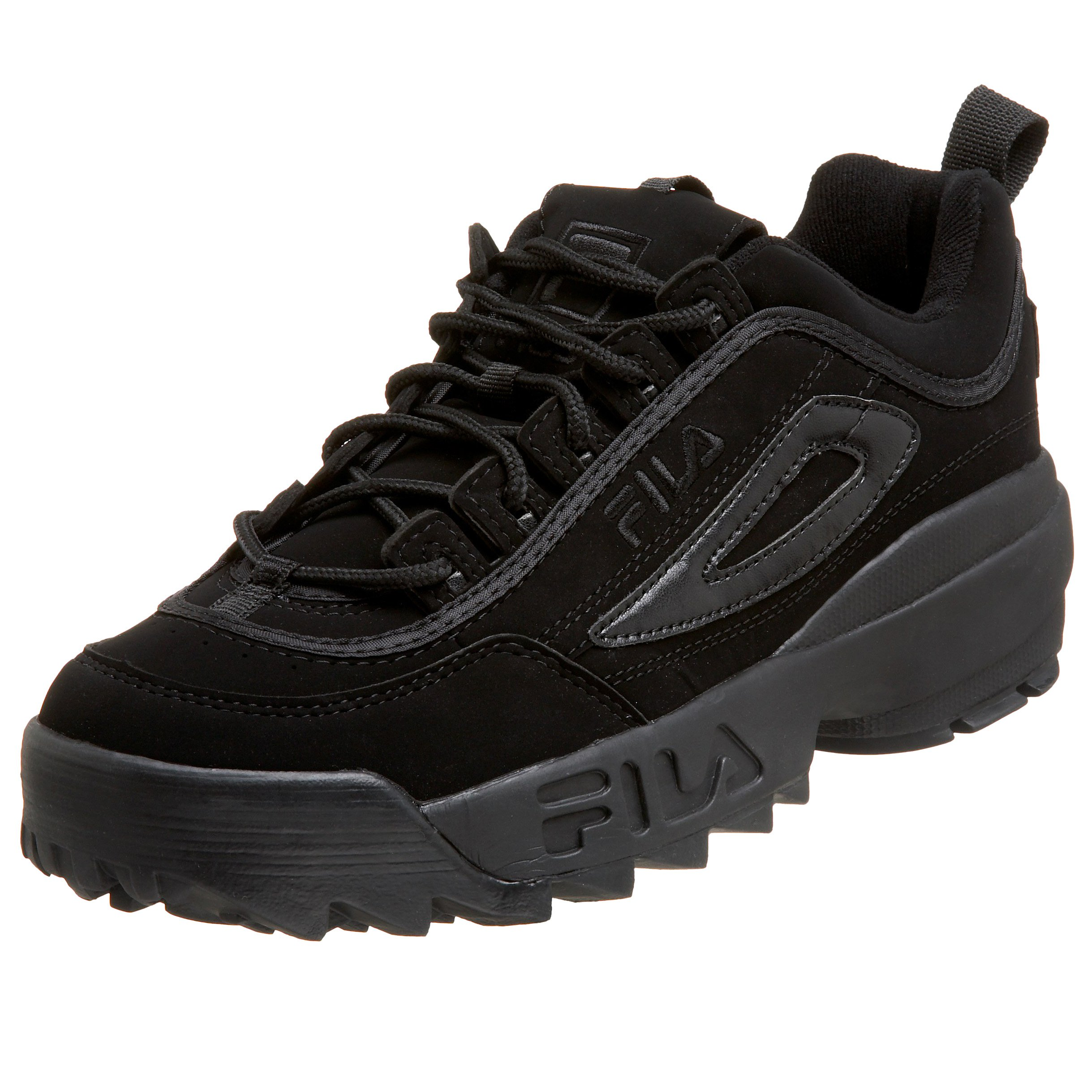 Fila Men's Strada Disruptor, Triple Black