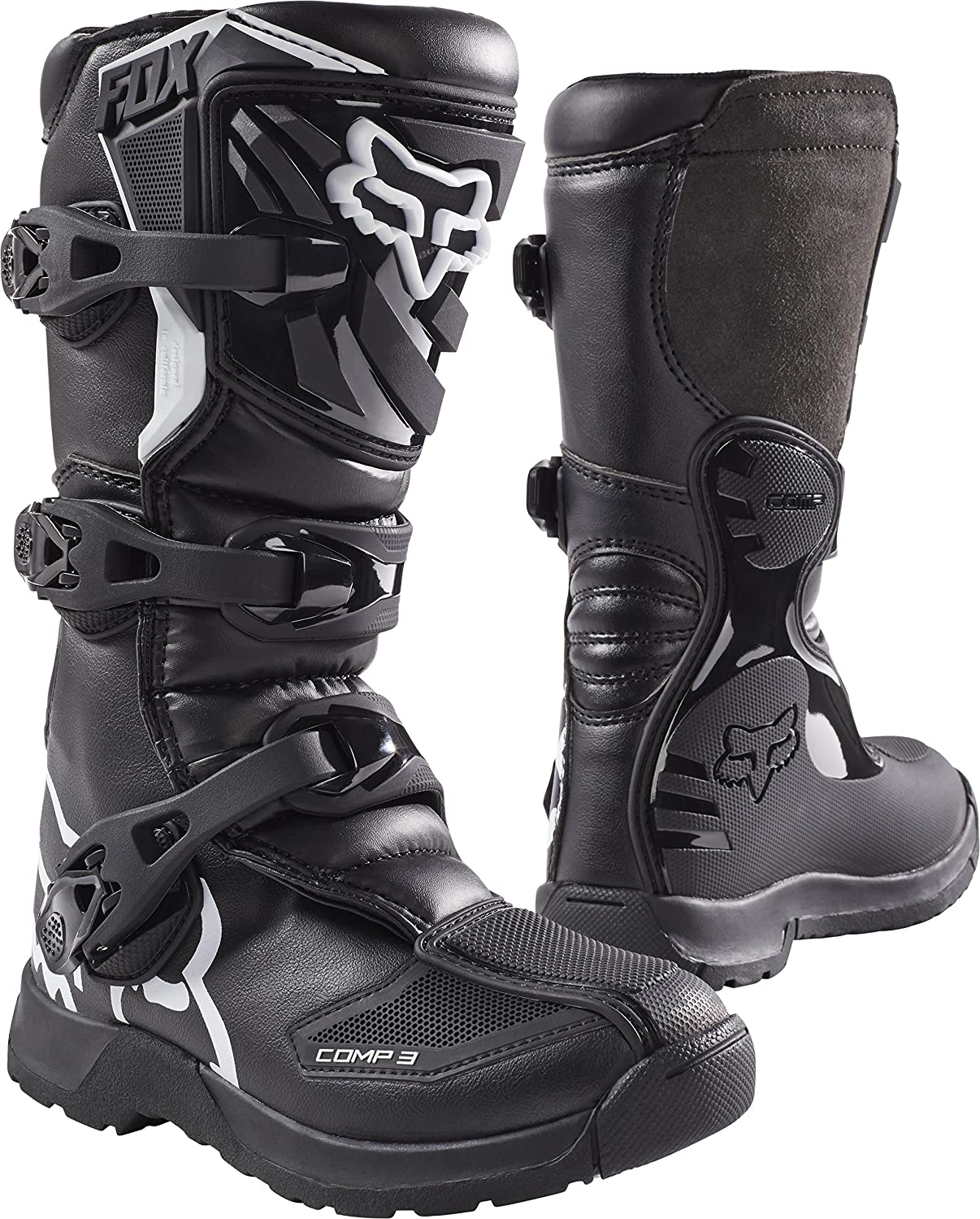 804a3078503 Fox Racing 2019 Youth Comp 3 Boots (6) (BOYS)