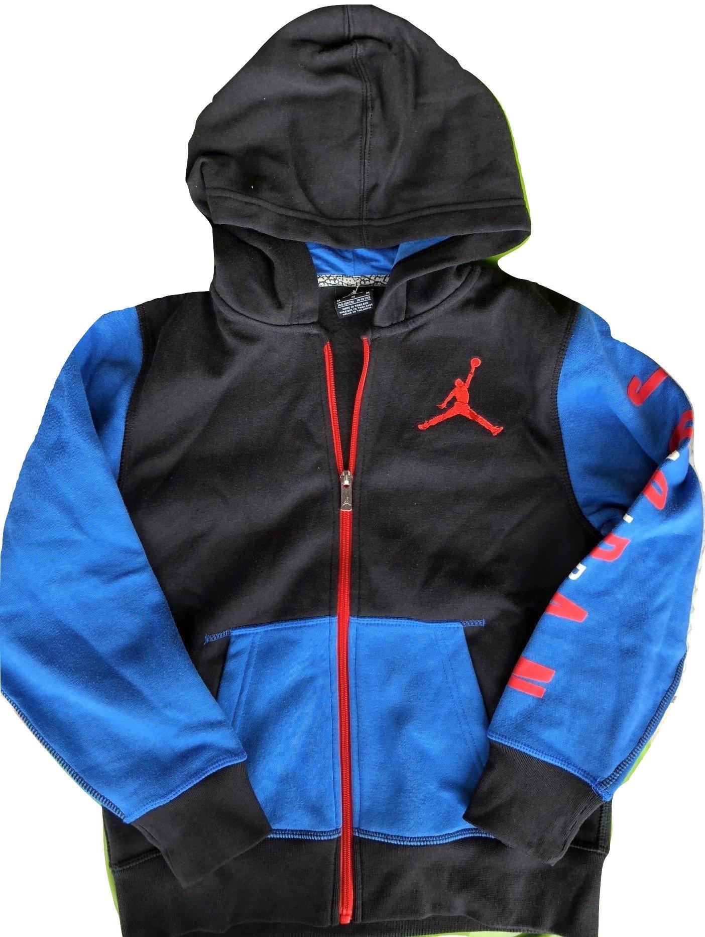 Nike Jordan Boys' Colorblocked Hoodie (Large)