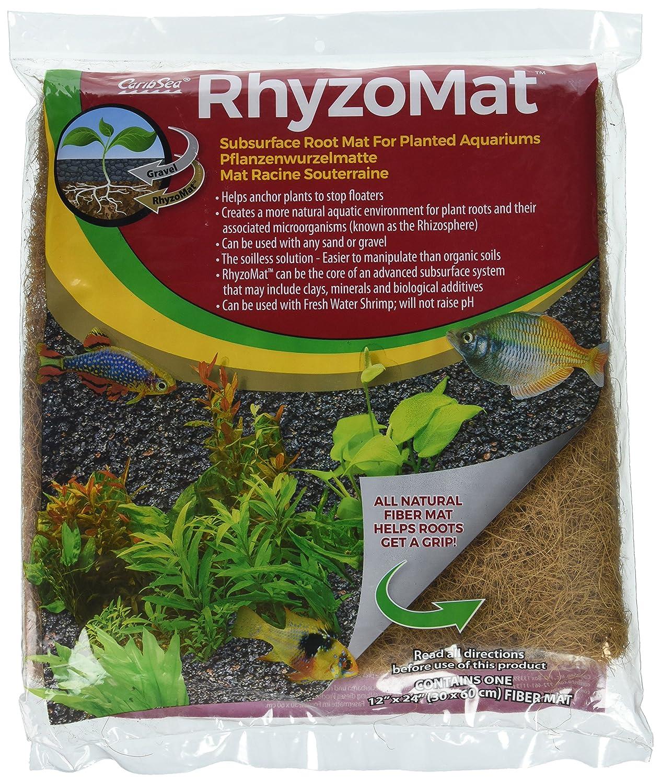 """CaribSea Aquatics Rhyzomat Subsurface Root Mat, 12"""" x 24"""" 12"""" x 24"""" Inc 00787"""