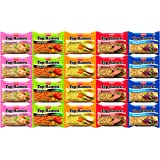 Nissin Instant Ramen Noodles Variety Pack 5 Flavors (20 Count)