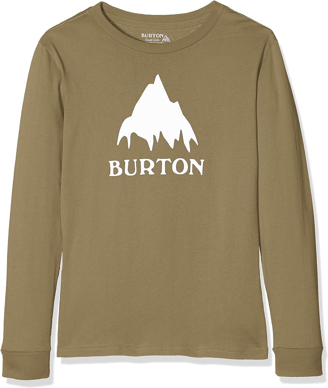 Burton Langarmshirt Classic Mountain LS Camisa de Manga Larga, Niños: Amazon.es: Ropa y accesorios