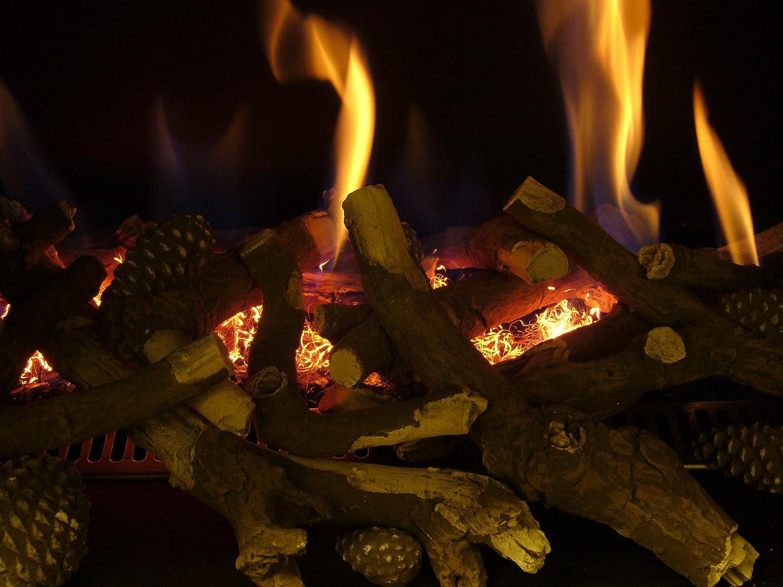 Embaglow Glowing Flickering Embers for Gas Fires incl Gazco and Bio Ethanol  / Gel