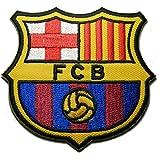Fc Barcelona Futbol Football Soccer Iron-on Embroidered Patch Emblem Logo Badge Applique
