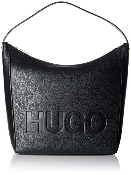f787b4ff73e HUGO Mayfair Shoulder Bag, Women's Black, 12x37.5x31 cm (B x H T ...