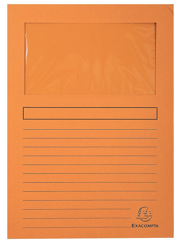 - Blanc 50270E Ref Paquet de 25 chemises /à fen/être Forever 120g//m2-22x31cm Exacompta