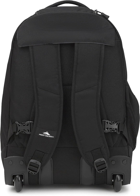 Black High Sierra Chaser Backpack /& Lunch Tote Set