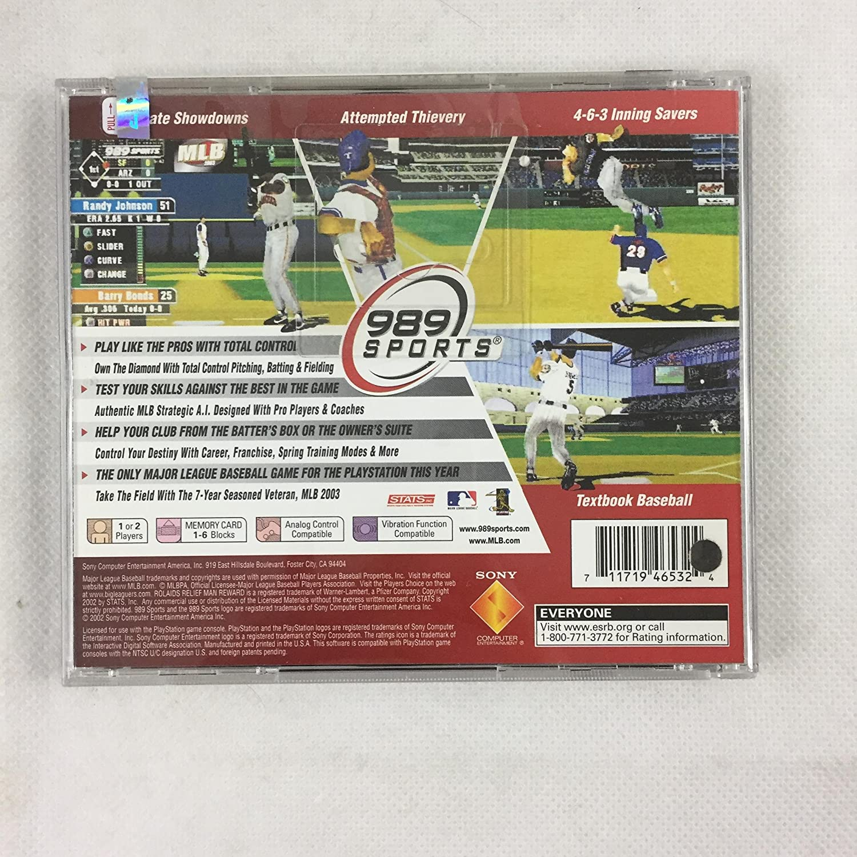 Amazon.com: MLB 2003 [PlayStation]: Video Games