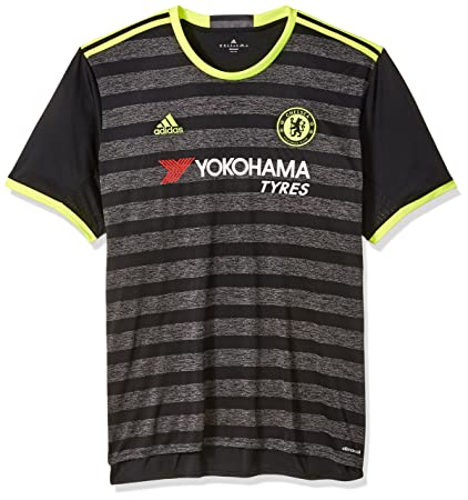 5c729069 Image Unavailable. Image not available for. Color: adidas International  Soccer Chelsea Men's Jersey, X-Large, Black/Yellow/Granite