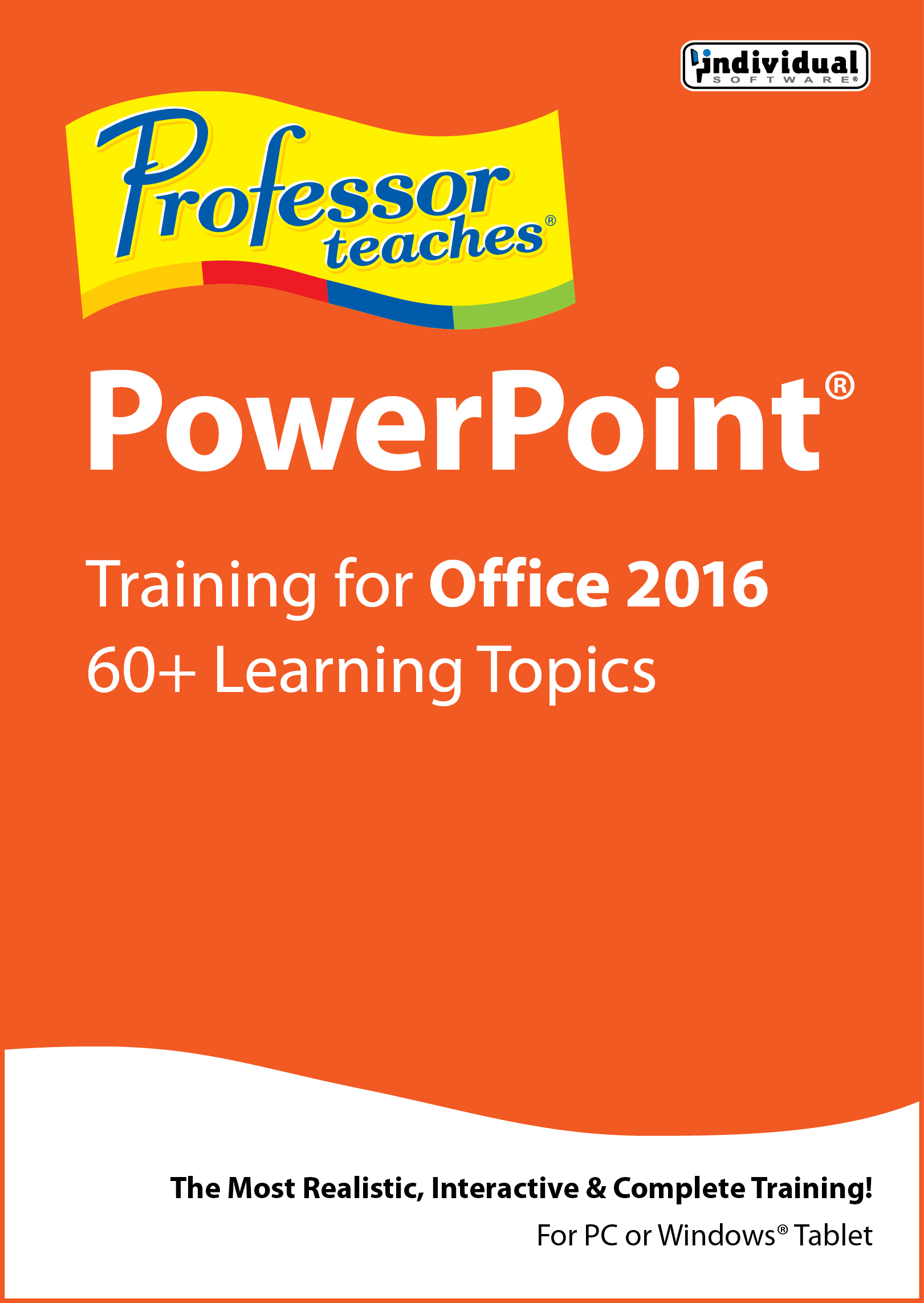 Professor Teaches PowerPoint 2016 [Download] by Individual Software