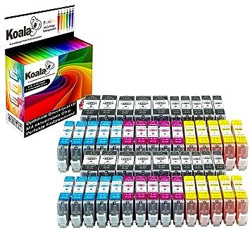 Koala Cartuchos de Impresora 25 Multipack Repuestos para Canon PGI ...