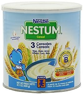 Nestle Nestum 3 Cereals, 14.1-Ounce (Pack of 6)