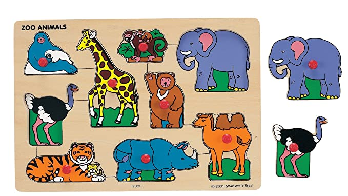 Ryan?s Room Wooden Classic Puzzle ? Zoo Animals
