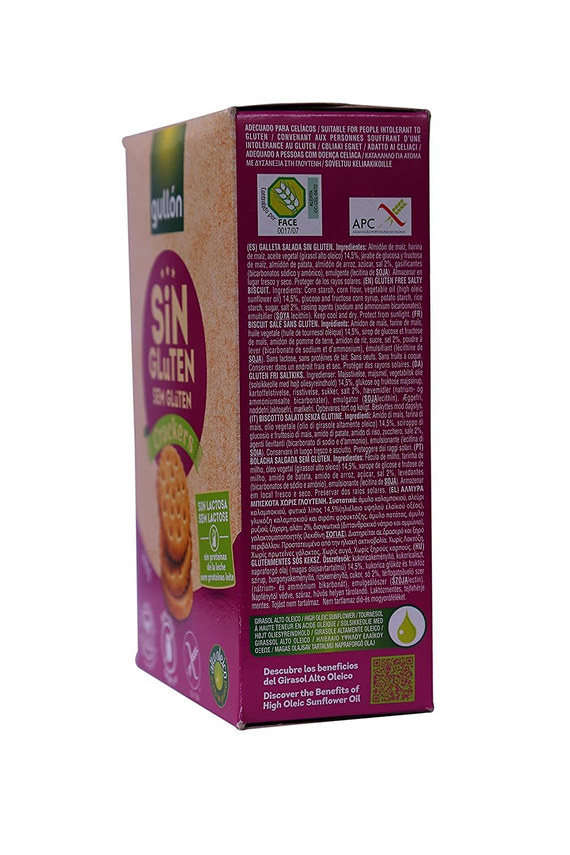 GULLON galletas crackers SIN GLUTEN caja 200 gr: Amazon.es: Alimentación y bebidas