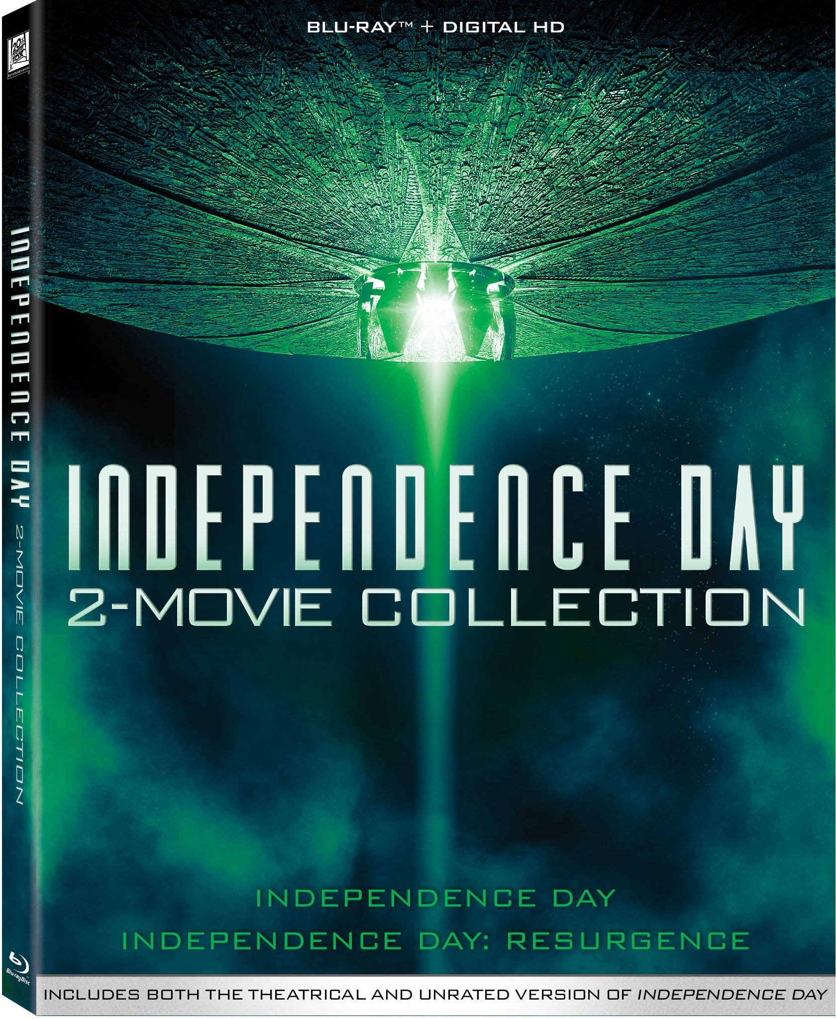 Blu-ray : Independence Day: 2-Movie Collection (2 Pack, 2 Disc)