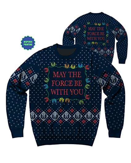 Star Wars Xmas Force Mens Ugly Christmas Sweater 2x Amazonfr