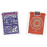 Cartouche de 12 jeux TALLY-HO Circle (US playing cards company)