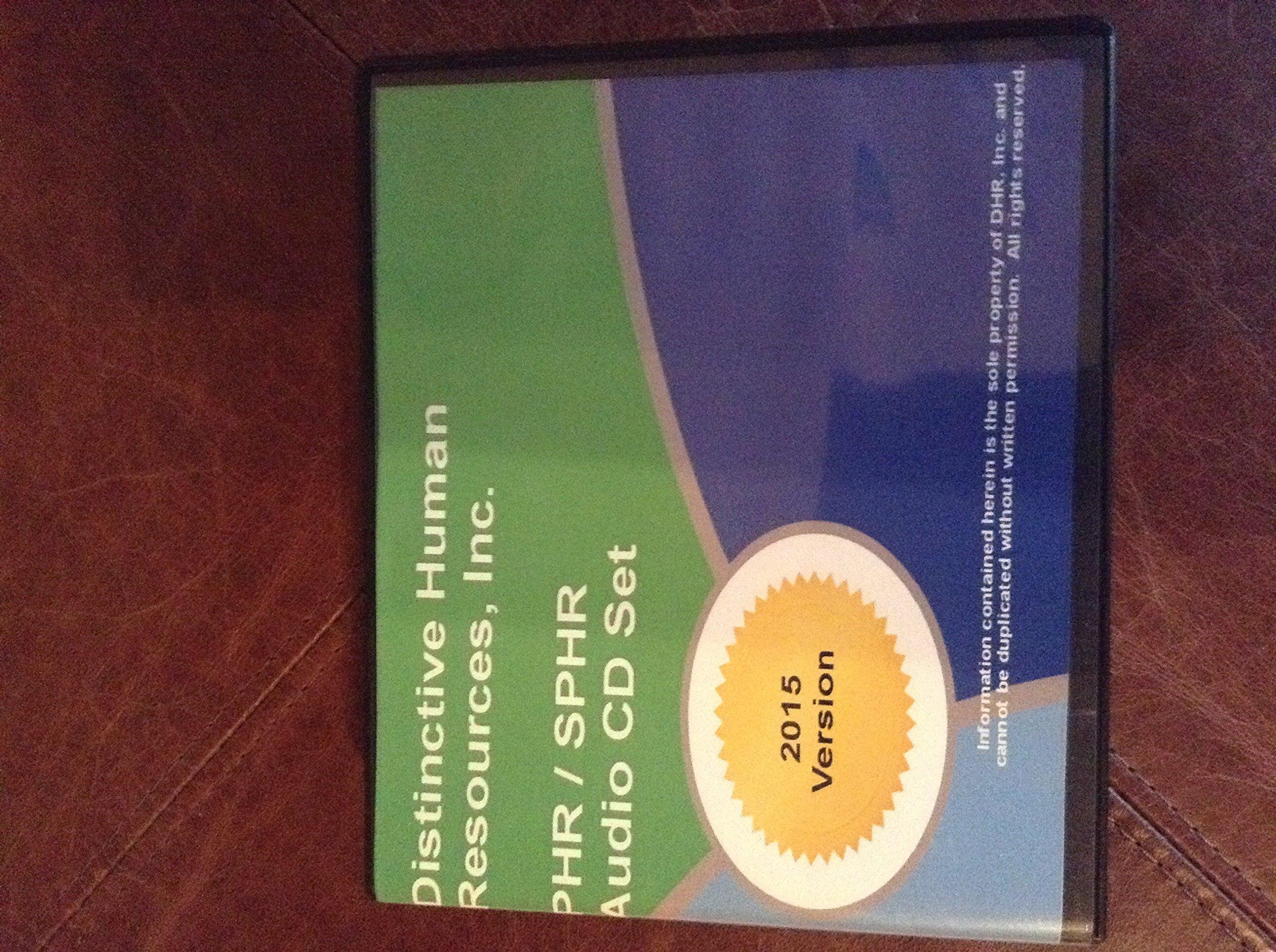 Distinctive Human Resources Inc Phrsphr Study Guide Audio Cd Set