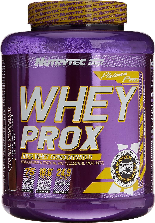 Nutrytec Whey Prox Platinum, Sabor a Chocolate - 2000 gr ...
