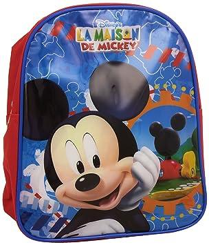 Kids Euroswan - Mochila Mickey Mouse Medidas 27,7 x 22,5 x 3,4 cm: Amazon.es: Equipaje