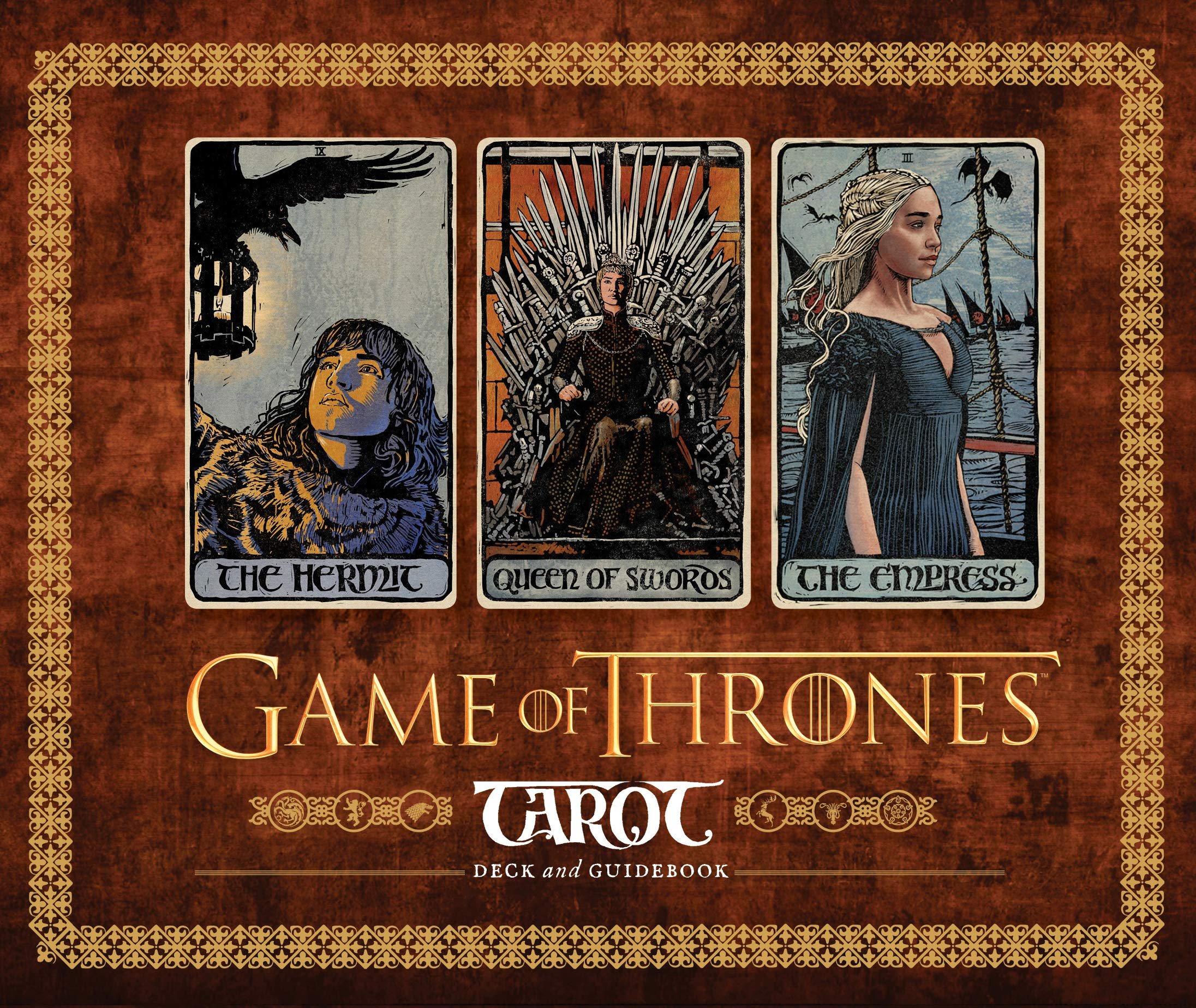 Game of Thrones Tarot Card Set (Game of Thrones Gifts, Card
