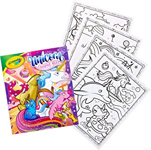 Crayola Unicorn Coloring Book, 96 Coloring Pages, Gift for Kids, Ages 3, 4, 5, 6