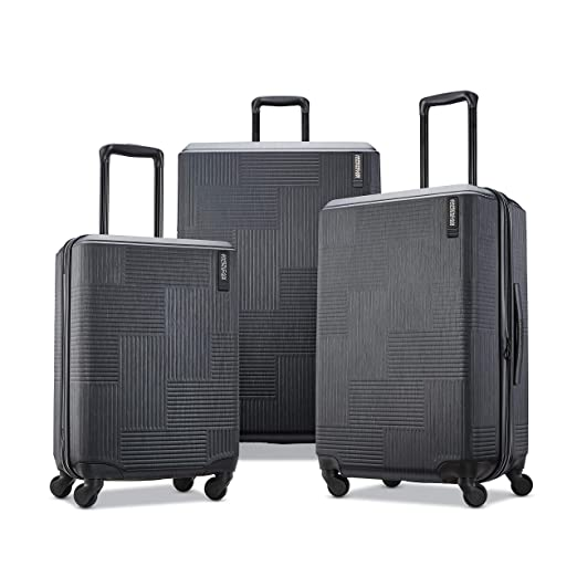 9023f806410a American Tourister Stratum XLT Expandable Hardside Luggage with Spinner  Wheels