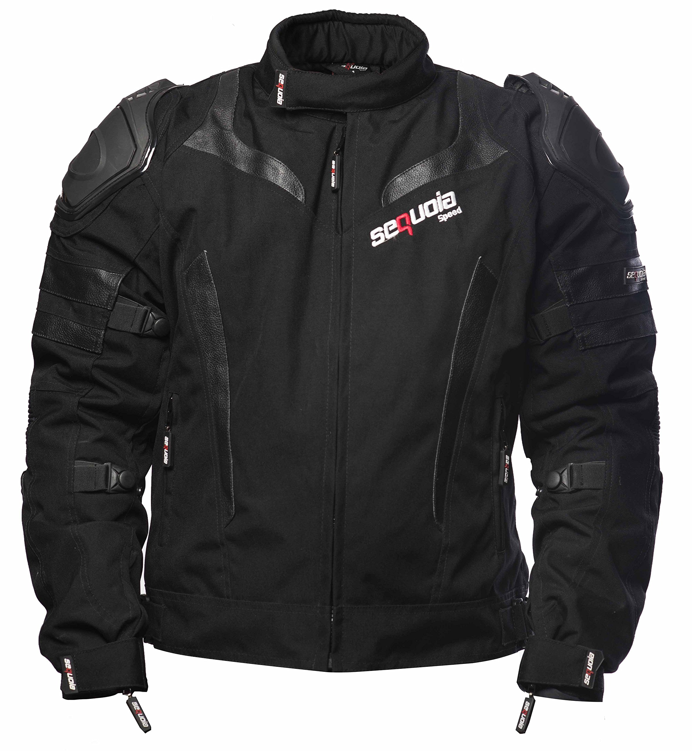 Sequoia Speed SR2030 Jacket Armor Motorcycle Body Gear Chest Black Full Protection Spine Protective Shoulder Men Racing Bike Motocross New S Guard Riding Powersports - Size 3XL - 3 Months Warranty
