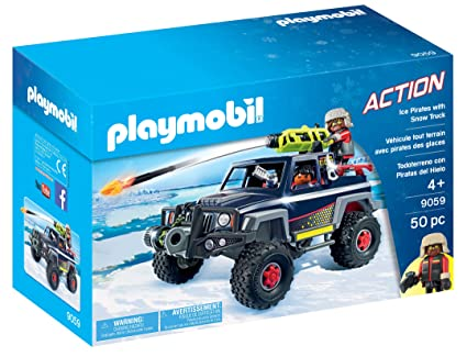 PLAYMOBIL® Ice Pirates with Snow Truck Playset, Multicolor