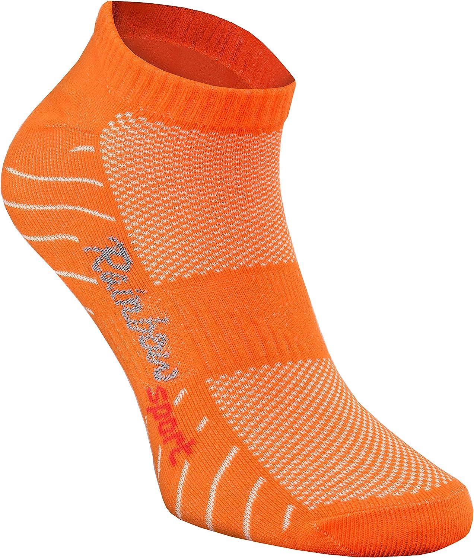 Femme Homme Chaussettes de Sport 6 Paire Rainbow Socks