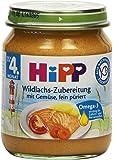 Hipp Wildlachs-Zubereitung mit Gemüse 125 g, 12er Pack (12 x 125 g)