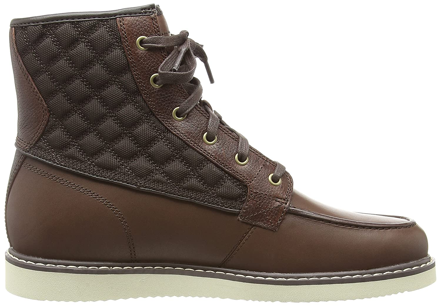 Timberland Newmarket FTB_Newmarket Moc Toe 6 in, Men's Ankle Boots, Brown ( Dark Brown), 14.5 UK (50 EU): Amazon.co.uk: Shoes & Bags